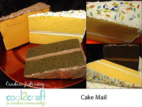 How to Make Faux Cake Slices from Sponges by Candace Jedrowicz