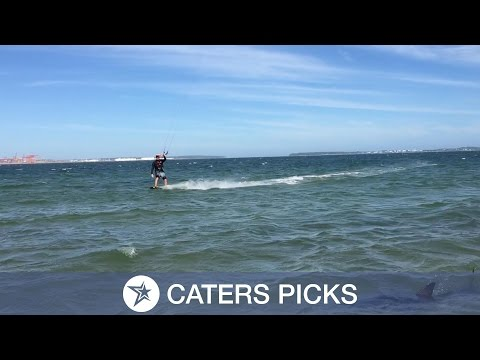 Kite-surfing With Sharks