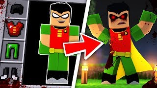 DO NOT PLAY MINECRAFT WITH EVIL ROBIN...
