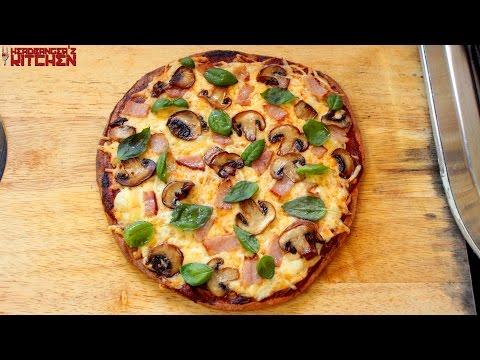 Keto Pizza (Fathead Crust) | Keto Recipes | Headbanger's Kitchen
