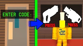 USE THIS CODE TO ACCESS SECRET GUNS! (Roblox Jailbreak Roleplay)