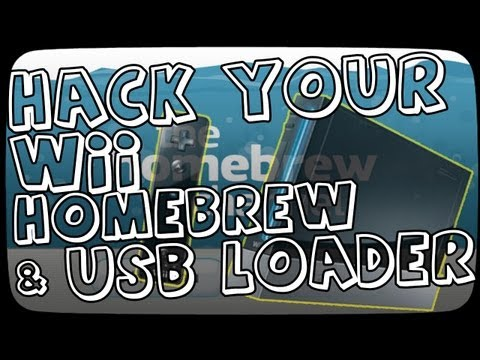 Install USB Loader and Homebrew Channel Tutorial on Wii with LetterBomb - Play Backup USB Games 4.3