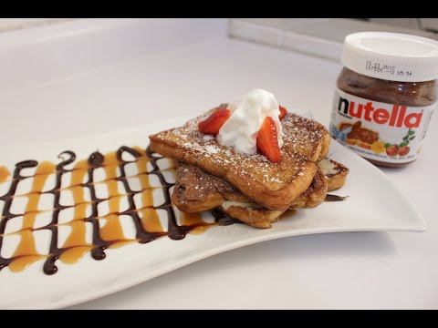Nutella S'mores French Toast