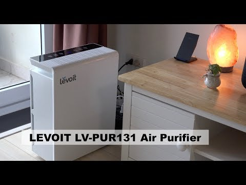 LEVOIT LV-PUR131 Air Purifier with HEPA Filter Unboxing & Testing