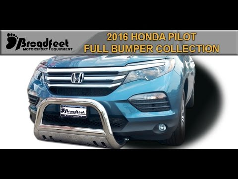 BROADFEET 2016 HONDA PILOT FRONT SIDE REAR BUMPER GUARD COLLECTION