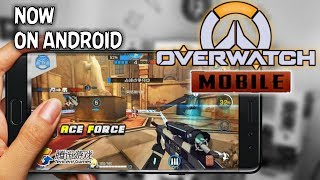 overwatch tencent games released on android new game