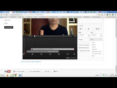 How to add URL to your website from your youtube video