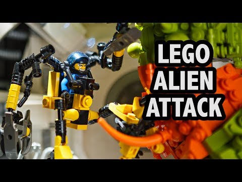 LEGO Alien Space Station Attack | Philly Brick Fest 2018