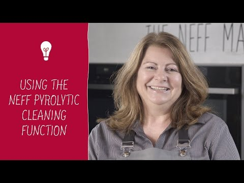 Using the NEFF pyrolytic cleaning function
