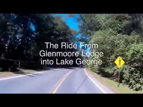 Glenmoore Lodge to Lake George - The Route