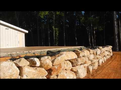 Building A Rock Retaining Wall