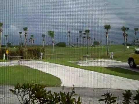 okeechobee koa kamping kottage on golf course