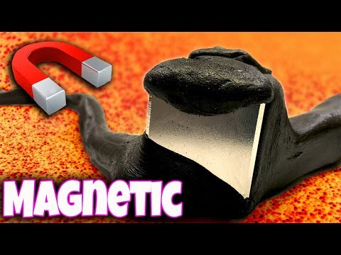 Making GIANT MAGNETIC SLIME! It tried to eat us!