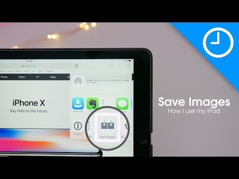 How I use my iPad: Save Images [9to5Mac]