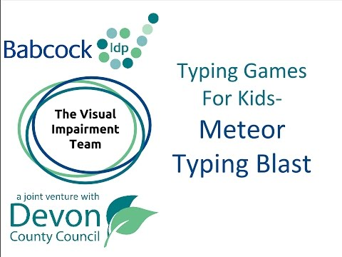 Meteor Typing Blast- Touch Typing Game