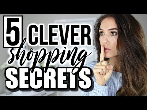5 Shopping Secrets Retailers & Brands DON'T Want You To Know!!!