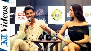 Kaabil Press Conference In Dubai - Hrithik Roshan and Yami Gautam