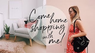 COME SHOPPING WITH ME + HAUL: HOMESENSE EDITION | Hello October Vlog | AD