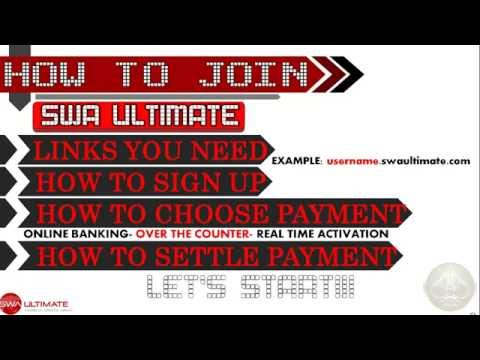 STEP BY STEP TUTORIAL ON HOW TO JOIN SWAPI ONLINE OPPORUNITY