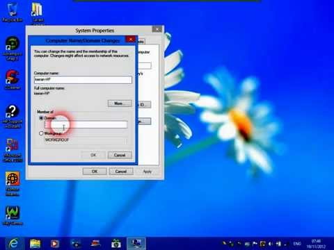 How To Join A Domain On Windows 8