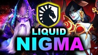 NIGMA vs LIQUID - GREAT SERIES - BLAST Bounty Hunt DOTA 2