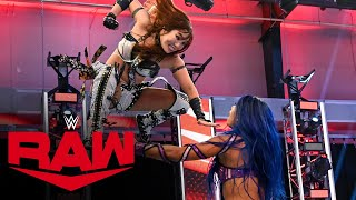 Kairi Sane vs. Sasha Banks: Raw, July 6, 2020
