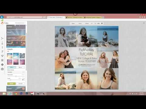 PicMonkey Tutorial - How to Edit Collages