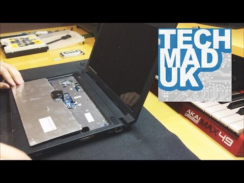 Lenovo Thinkpad B570e B570 Full Disassembly + Screen Replacement