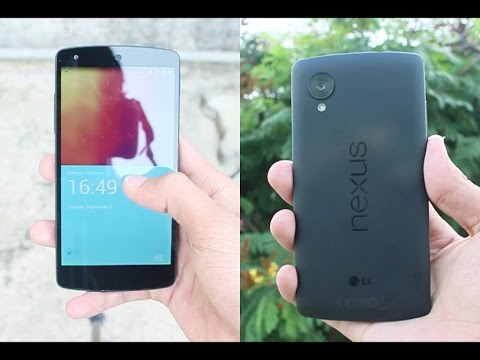 CyanogenMod 11S/OnePlus One LockScreen On Nexus 5! [Root]