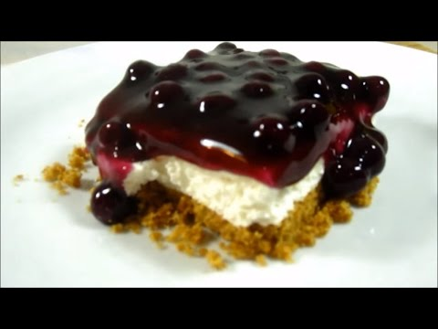 💓 No Bake Blueberry Cheesecake - Pinoy Dessert Recipes
