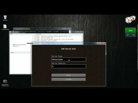 How To Setup A Minecraft Server On Mac - Eigenen minecraft server erstellen hamachi