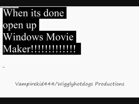 How To Import ANY Media Into Windows Movie Maker - K-Lite Codec  (New Updated Links)