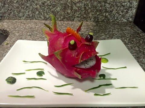 Dragon fruit fish