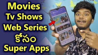 Best Apps To Watch Movies & TV Shows Web Series | Sai Nithin