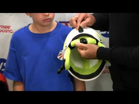 Final Proper fitting of Helmet video