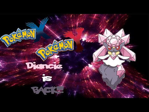 Diancie is BACK!! (Pokemon 3ds powersaves)