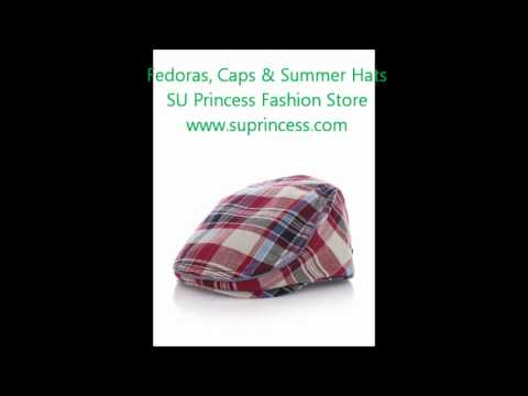 Fedoras, Caps & Summer Hats