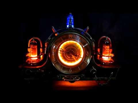 steampunk clock: Lightherius timemulator