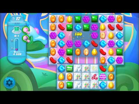 Candy Crush Soda Saga Level 235 - No boosters