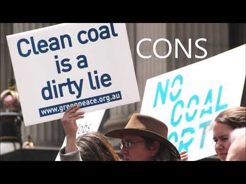 Clean Coal Pros and Cons