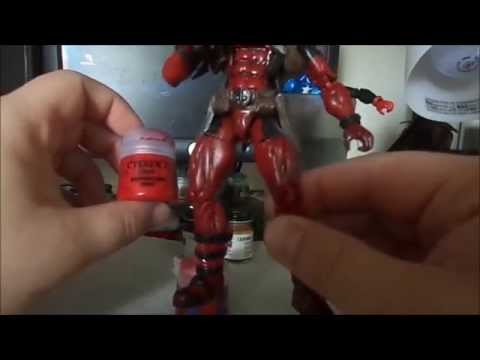 How to make a Custom Marvel Legends Deadpool