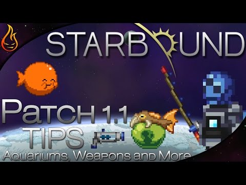 Starbound 1.1 Patch Tips — Aquariums, Weapons and More