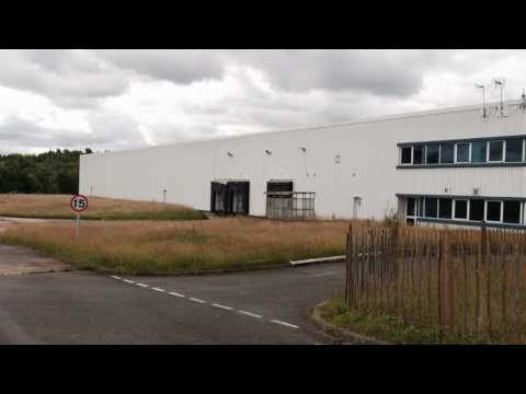 Abandoned SHARPS Factory near Wrexham.
