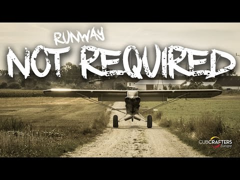 RUNWAY NOT REQUIRED / CARBON CUB BACKCOUNTRY FLYING