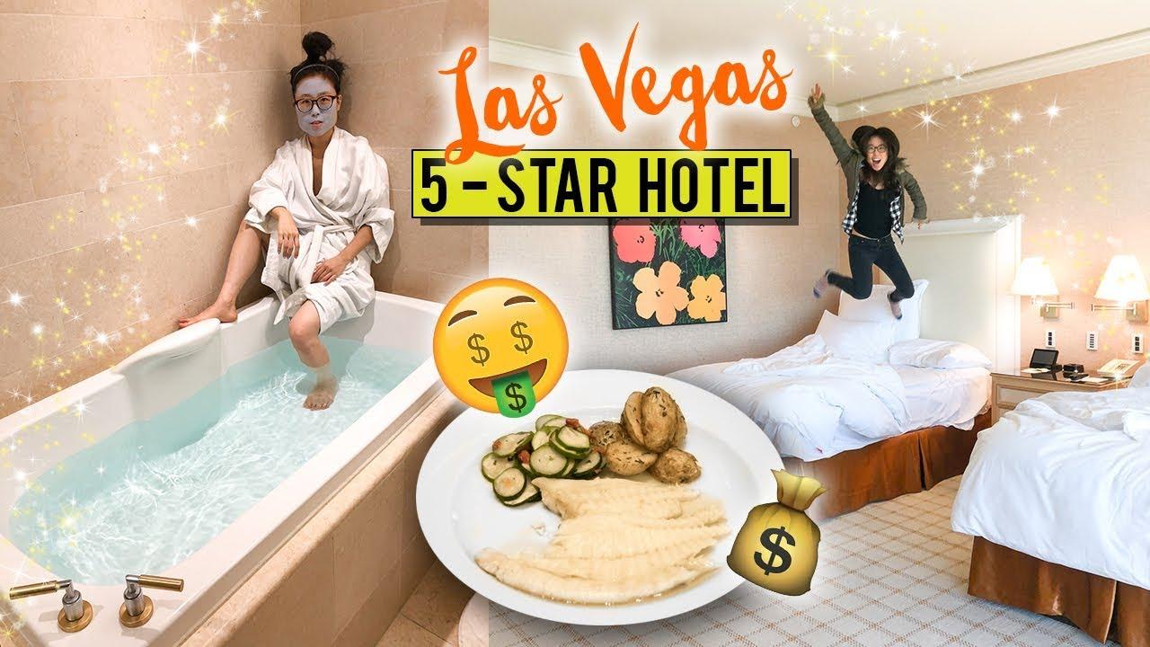 5-STAR HOTEL TOUR in Las Vegas ♦ Italian Fine Dining Experience