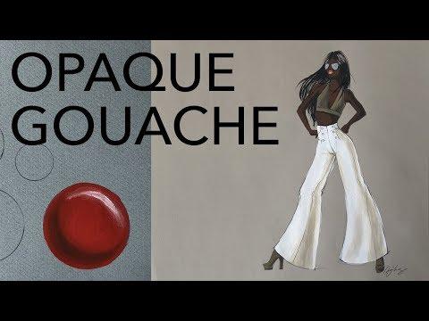 Tutorial: Gouache/Opaque Watercolor