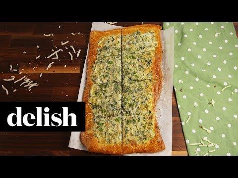 Spinach Artichoke Flatbread | Delish