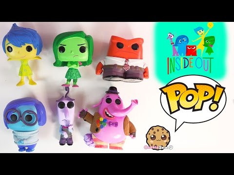 Inside Out Disney - Pixar Funko Pop! Vinyl Movie Toys Video Review - Joy, Sadness, Bing Bong