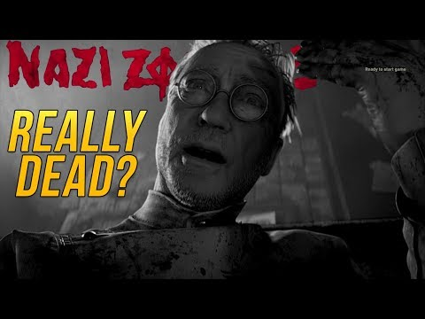 Could Dr. Straub Be Dead Already | Straub's Ghost Haunting Us | Call of Duty WW2 Zombies Storyline