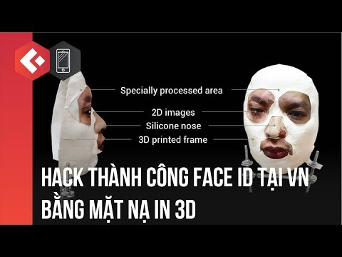 BKAV Việt Nam hack thành công Face ID iPhone X - Hack Face ID iPhone X by 3D mask success
